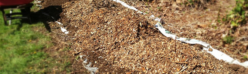 Wood Chipping and Garden Mulch